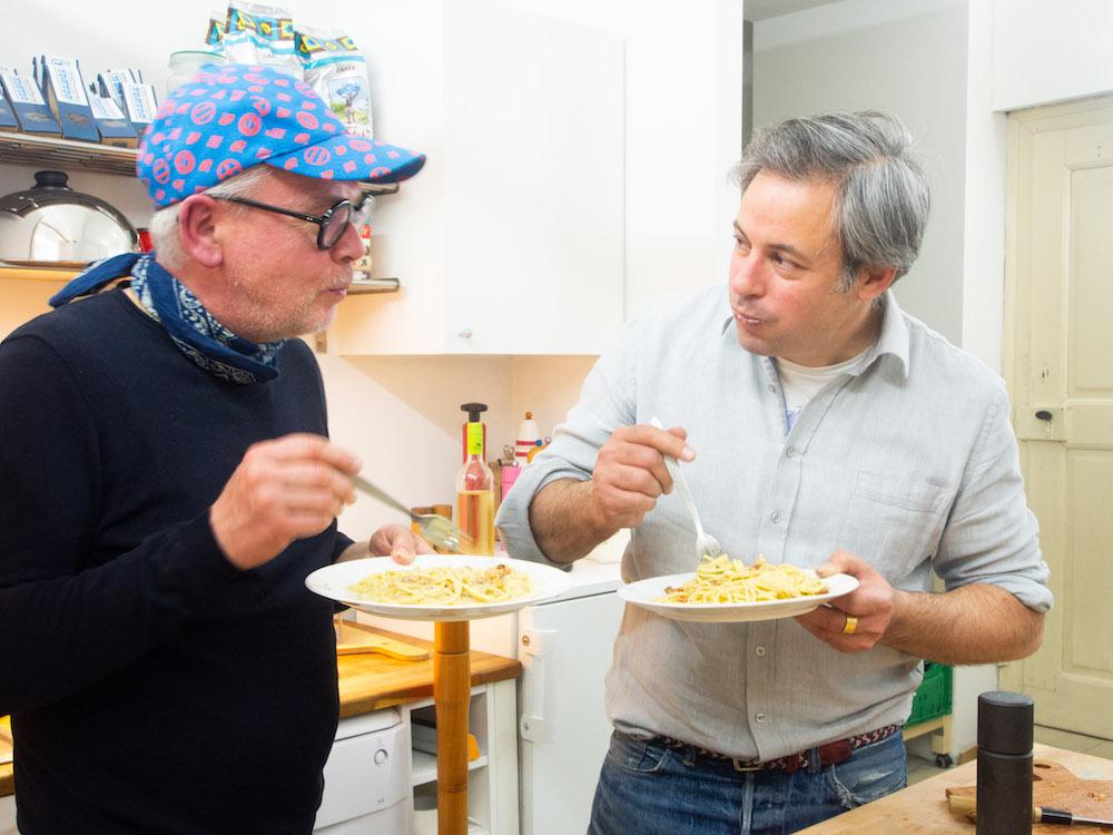 Kochen und essen mit Sby