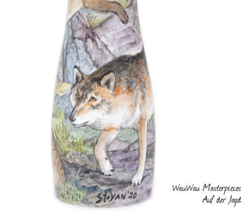 WauWau Masterpieces Auf der Jagd Detail