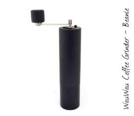 WauWau Kaffeemühle Beanie Buche schwarz 45g
