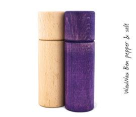 WauWau Ben Mühlenset Buche/Vintage violett