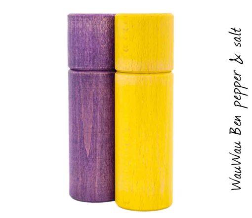 WauWau Ben Grinder Set Vintage violet/ Vintage yellow