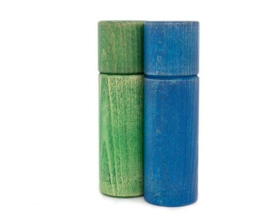 WauWau Pfeffermühle Ben vintage grün/ blau