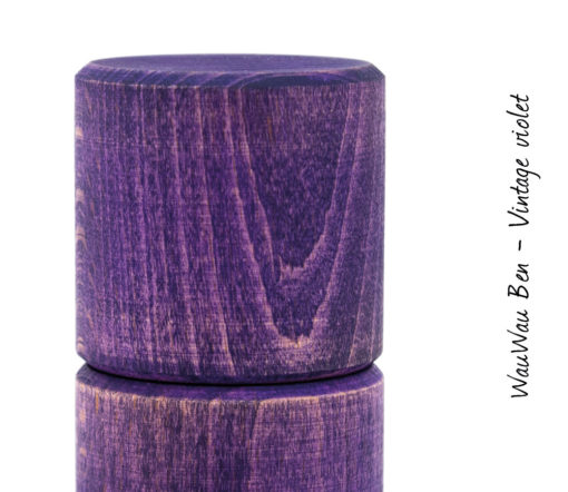 WauWau Ben Vintage Look violett Detail