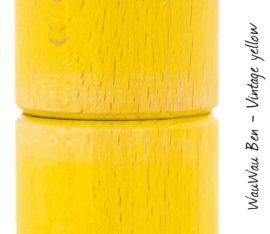 WauWau Ben Vintage gelb Maserung