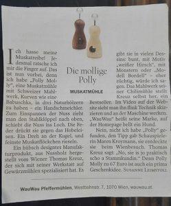 Artikel im Tagesspiegel Berlin