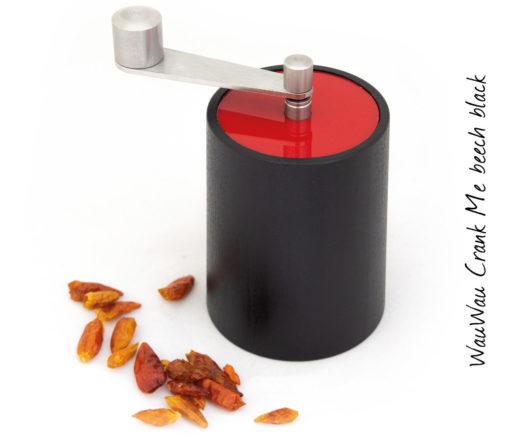 WauWau Chilimühle Crank Me denkel/ Deckel rot
