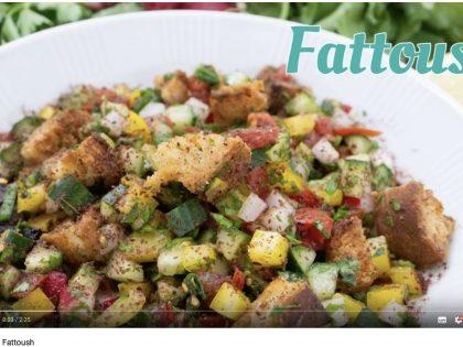 Barbaras Küche: Fattoush