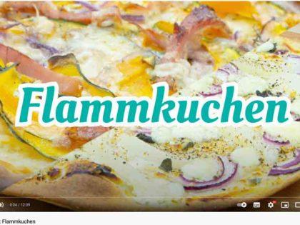 Barbaras Küche: Flammkuchen mit Kürbis & Speck / Birnen & Brimsen