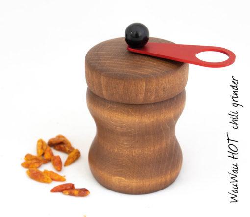 WauWau HOT Chilimühle Buche vintage