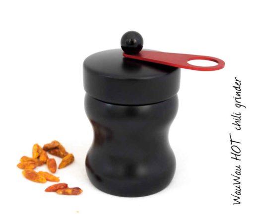 WauWau Chilimühle HOT Buche schwarz