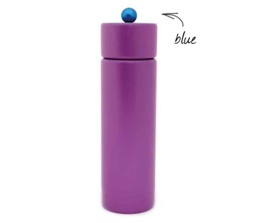 WauWau Pfeffermühle Jumsy violett Kugel blau