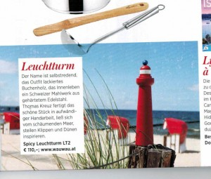 Der WauWau Leuchtturm LT2 in der Gusto Ausgabe 3/2016
