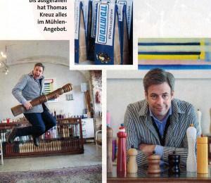 "WauWau Pfeffermühlen im Magazin ""Luxury Things"" Mai 2016"