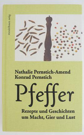 Ein Buch über Pfeffer erschienen im Mandelbaum Verlag.