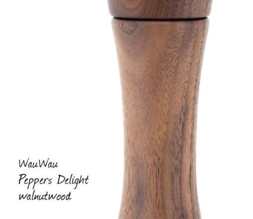 WauWau Peppers Delight Walnuss natur Detail
