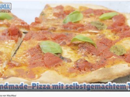 Homemade-Pizza von WauWau!