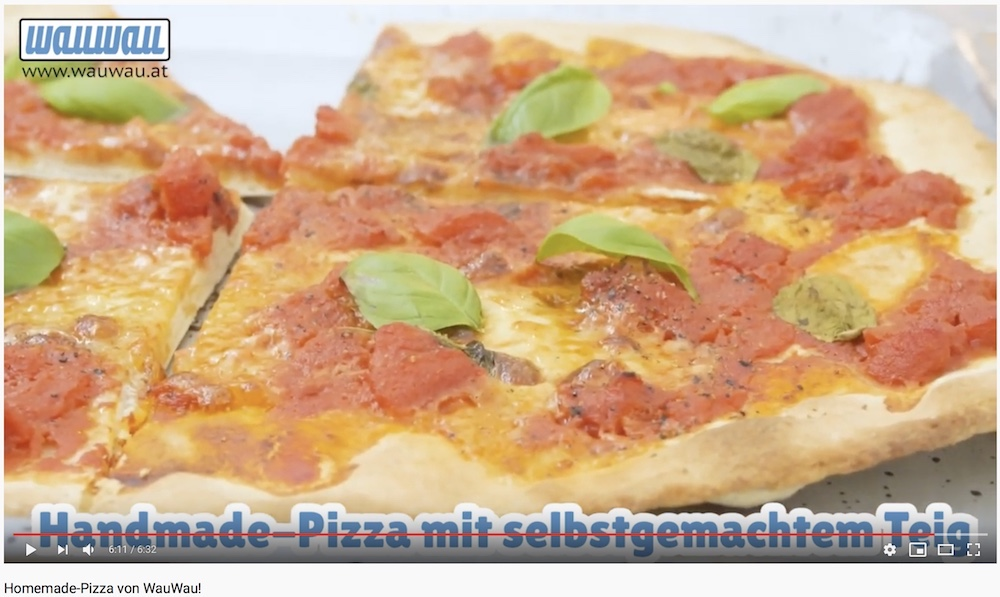 WauWau Rezept: Homemade-Pizza
