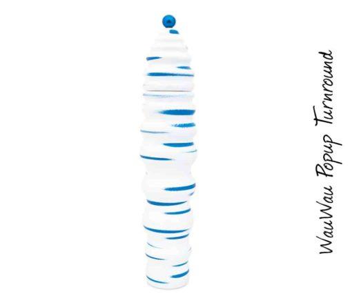WauWau Popup Turnround geschwungen blau