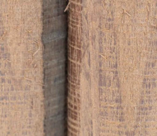 WauWau Pfeffermühle Raw aus Akazienholz Detail Oberfläche