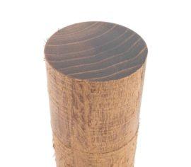 WauWau Pfeffermühle Raw aus Akazienholz Detail