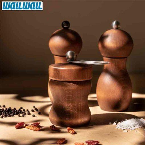 WauWau Mühlenset Stella & Hot Chili silber
