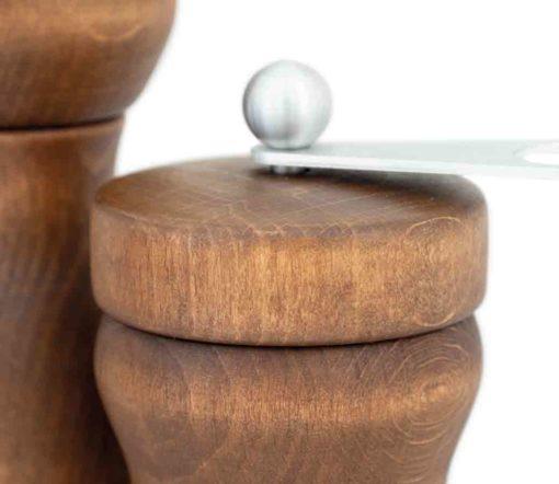 WauWau Mühlenset: Stella & HOT Chili silber Duo detail