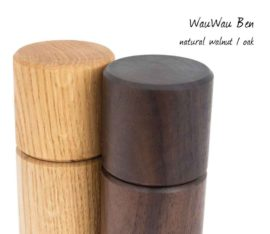 WauWau Ben Walnuss Eiche natur Mühlenset Detail