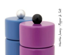 WauWau Jumsy Mühlenset violett & Blau Detail