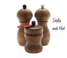 WauWau Mühlenset: Stella Buche Vintage Look & HOT Vintage Look