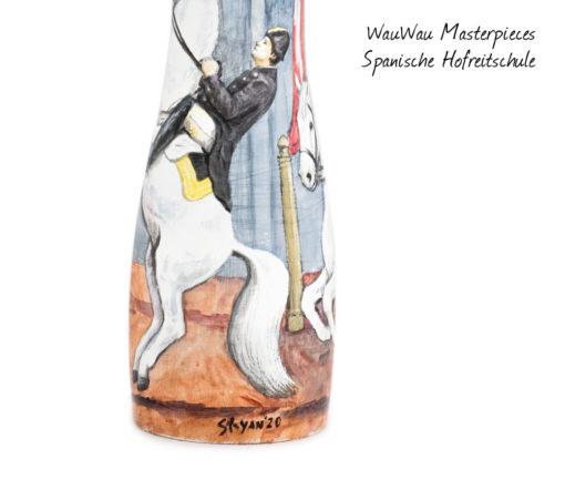 WauWau Masterpieces Edition: Spanische Hofreitschule Detail