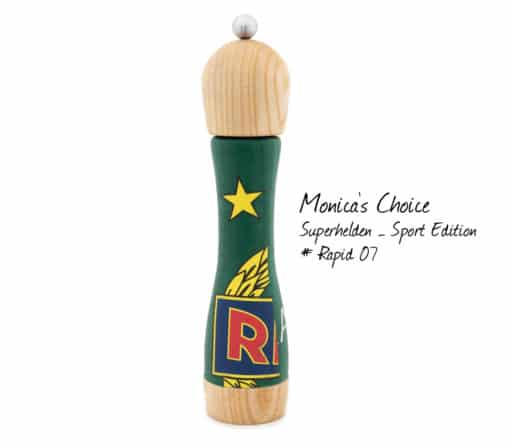 WauWau Pfeffermühle Monica's Choice- Superhelden: Rapid07