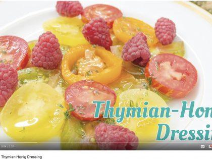 Barbaras Küche: Thymian-Honig Dressing