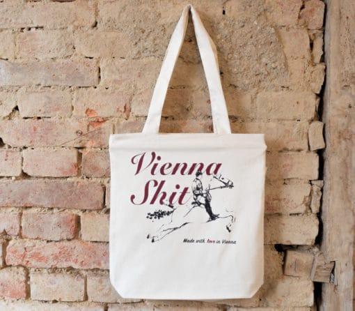ViennaShit Stofftasche Standard