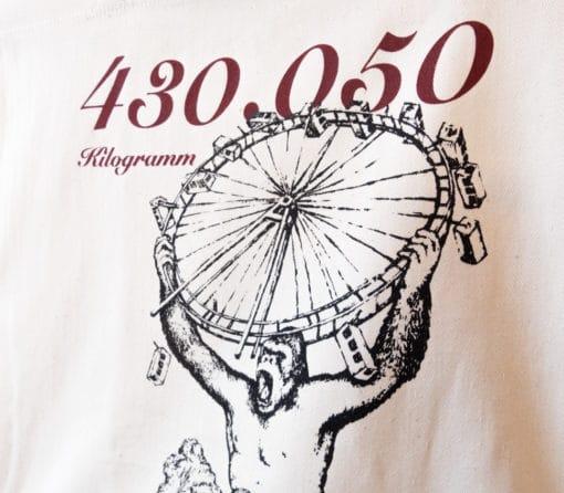 ViennaShit Stofftasche Riesenrad Detail