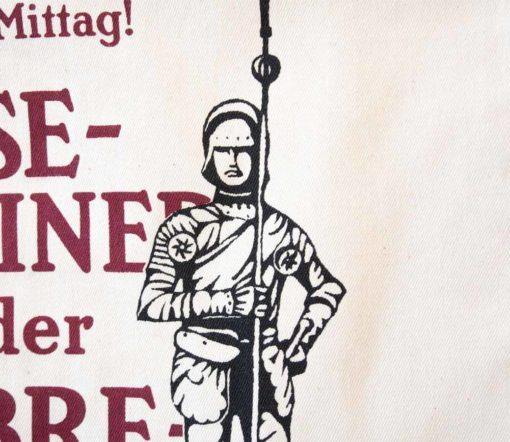 ViennaShit Stofftasche Rathausmann Detail