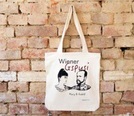 ViennaShit Stofftasche Wiener Gspusi