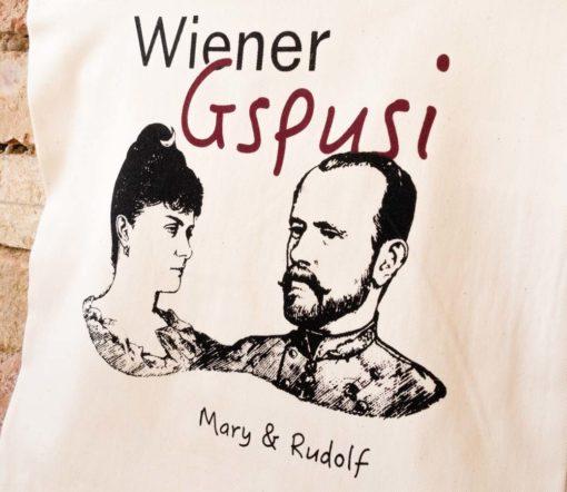 ViennaShit Stofftasche Wiener Gspusi Detail