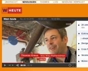 WauWau bei Wien Heute ORF 2